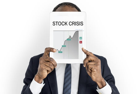 failed plan: Stock Crisis Fail Money Concept