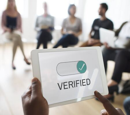 Verified Allowance Approval Permit Authority Imagens
