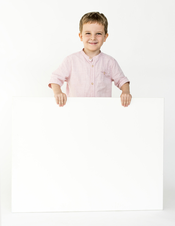 Studio People Kid Model Shoot Race Stock Photo