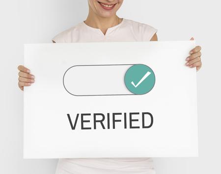 allowance: Verified Allowance Approval Permit Authority Stock Photo