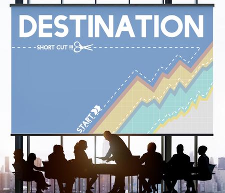 Destination Location Journey Itinerary Goal