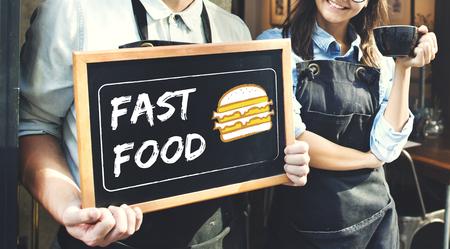 pareja comiendo: Burger Fast Food Icon Gráfico