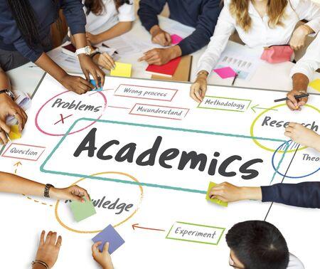 School onderwijs studie processchema