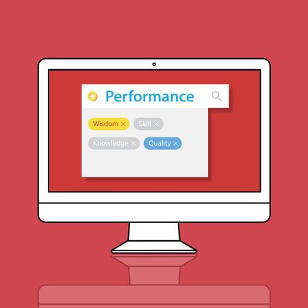 Enhance Thrive Performance Potential Improvement Stock Photo