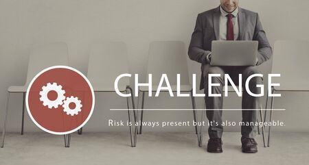 Risk Management Challenge Solution Prioritize Stock Photo - 76891363