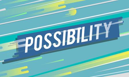 Possibilité Icône de probabilité souhaitable Banque d'images - 76927677