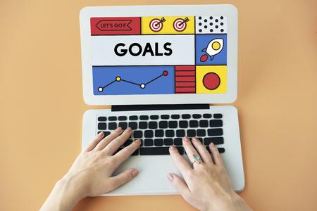 Goals Inspiration Mission Target Vision Word