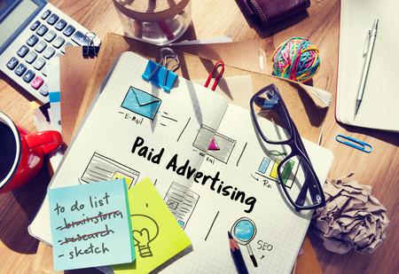 Online-Marketing kommerzielle Verbindungstechnologie Standard-Bild - 76896300