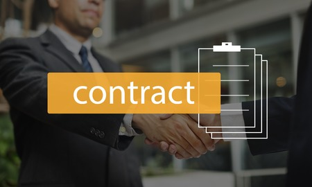 Contract Financial Business Employment Word