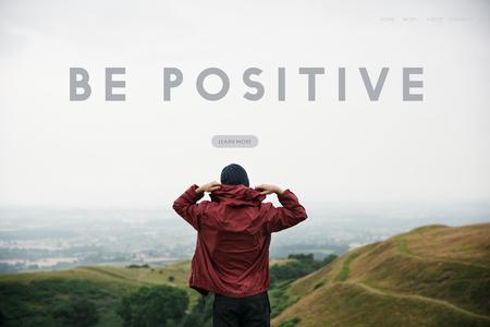 Simplicity Attitude Be Positive Word Stock Photo