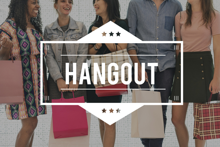 Spent Hangout Spoil Yourself Purchase Sale Store Stok Fotoğraf