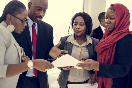 multi national: Diverse People Deal Teamwork Together Partnership