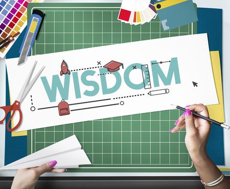 Academics Wisdom Literacy Study Icon Stock Photo - 76929321