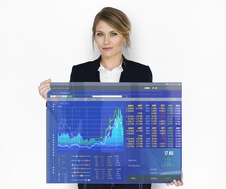 分析事業概要グラフ結果グラフィック
