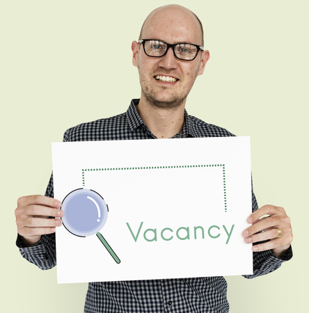 looking for work: Recruitment Job Occupation Search Concept