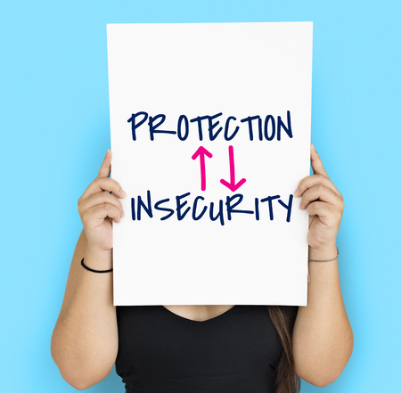 Innovation Technologie Protection Illustration de l'insécurité Banque d'images - 76990696