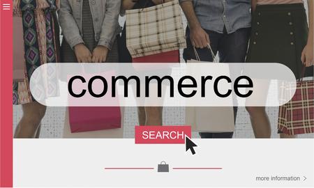 Koop Retail Consumer Commerce Online Stockfoto