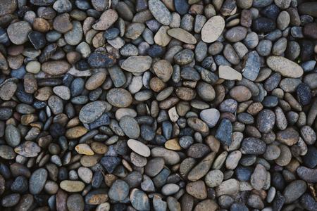 Nature stone rock textured pattern Banco de Imagens