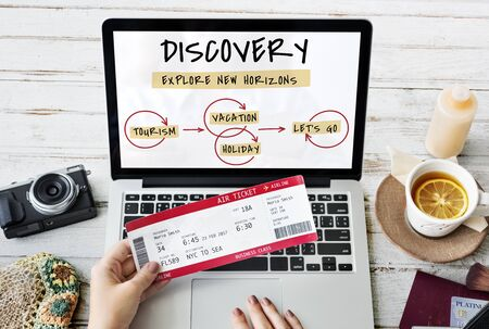 itinerary: Destination Journey Travel Discovery Diagram Word