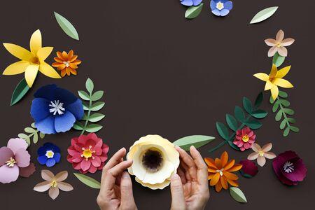 Bloem Plant Floral Nature Designs Stockfoto - 77324982