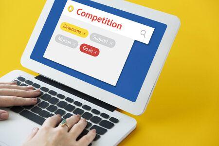 keyword: Competition contest keyword tag search