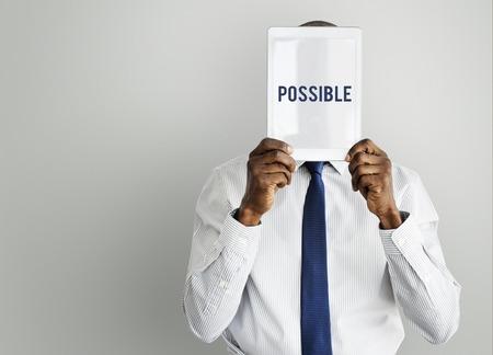 Possibilité Icône de probabilité souhaitable Banque d'images - 77328779