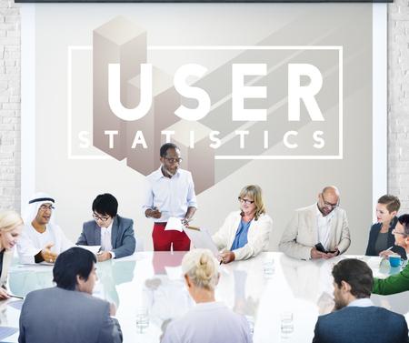 User Customer Identity Interface Member System Stock Photo
