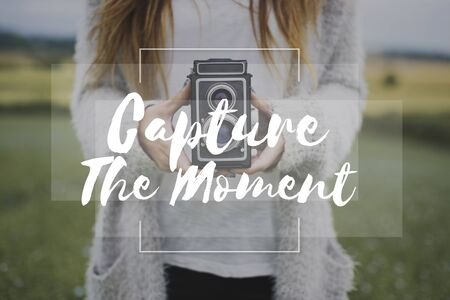 capture the moment: Photography pictures leisure word overlay