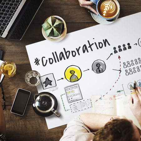Teamwork Collaboration Organization Brainstorming Goals