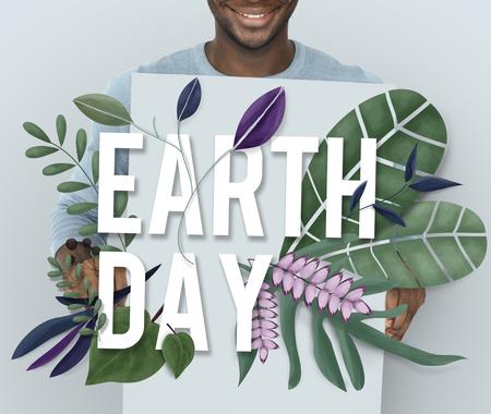Earth Eco Peace Organic Fresh Nature Banco de Imagens