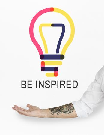 Lampje Idee Symbool Woord