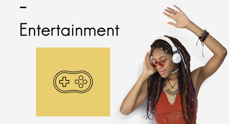Game Controller Multimedai Entertainment Graphic Illustration