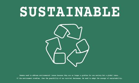 Duurzame Milieu Ecologie Natuur Recycle Planet Stockfoto