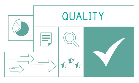 Illustration of quality product warranty assurance