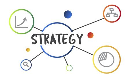 Business Plan Strategy Operation Process Concept Imagens