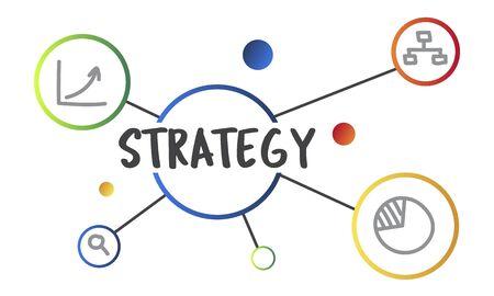 Business Plan Strategy Operation Process Concept Stock fotó