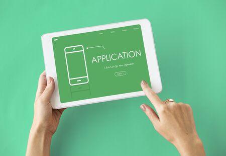 convergence: Mobile Phone Application Digital Technology Communication