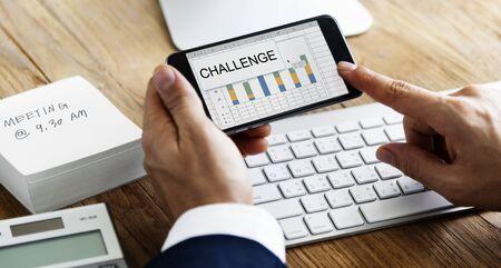 using smart phone: Challenge Solution Performance Risk Management