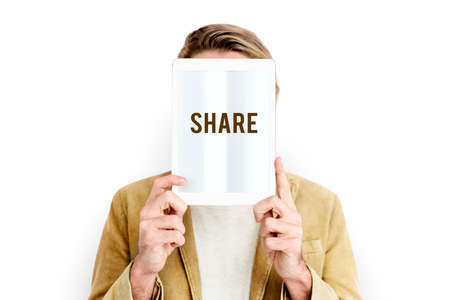 Share Connection Communication Entertainment Icon Stock Photo