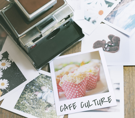 Cafe culture coffee lover word