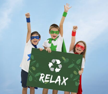 heros: Relax Growth Reuse Responsibility Icon Stock Photo