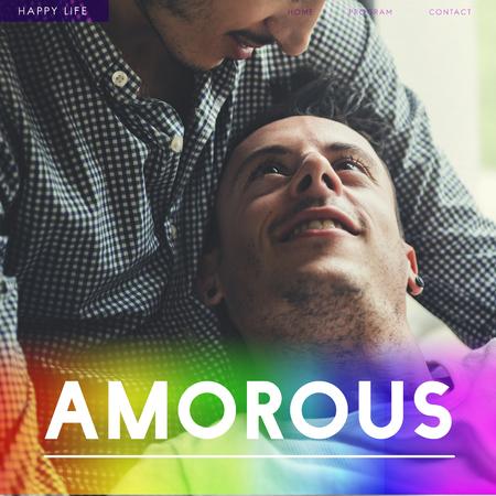 同性カップルの好色な永遠に夢中