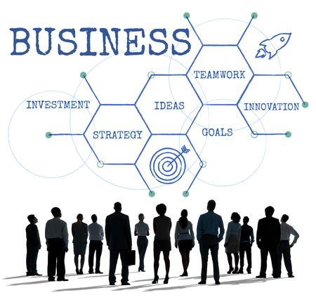Geschäftsprozesse Merchandising Markt Expansion Standard-Bild - 77218517