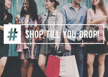 Commerce Fabulous Life Shopping Together