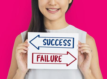 Arrows Opposite Choice Correct Solution Icon Reklamní fotografie