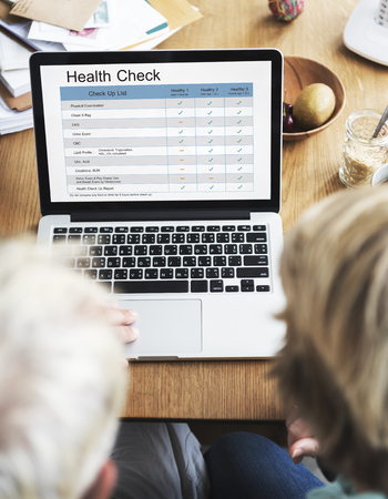 Annual Health Check Up Lifestyle Stock Photo