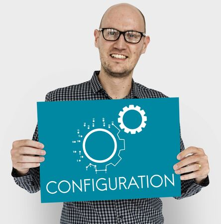 Cog Configuration Setting Icon Graphics Stok Fotoğraf