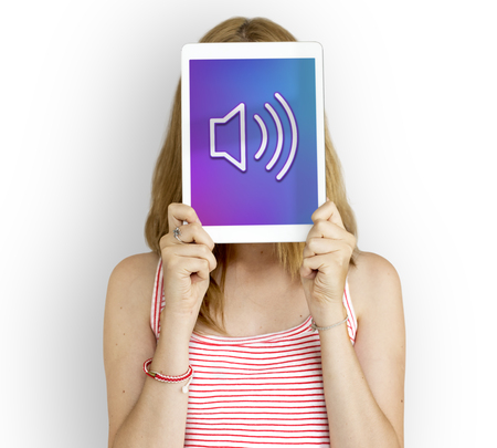 loudness: Loudspeaker Sound Loudness Graphic Symbol Icon