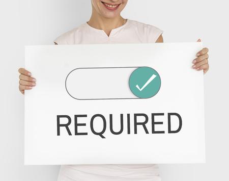Erforderliche Genehmigungsberechtigung zulassen zulassen Standard-Bild - 77259449