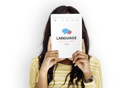 Language Communication Message Written